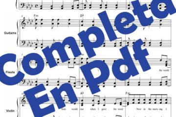Partitura Bolero de Ravel Pdf gratis online