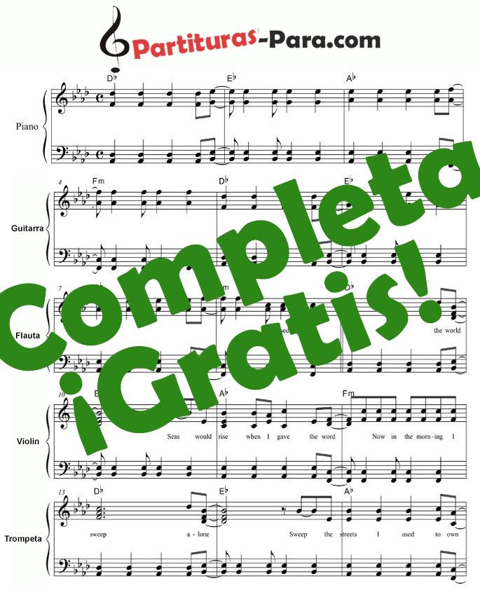 Lll Partitura Jingle Bells Piano Flauta Y Guitarra James Pierpont