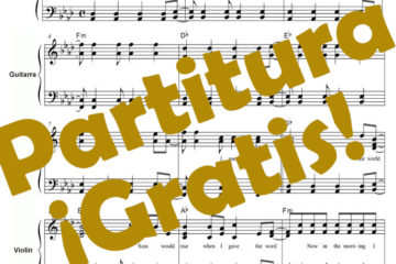 Partitura Tu cancion Pdf gratis online