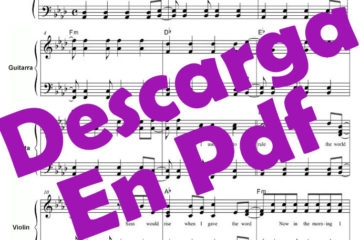 Partitura o Son do ar Pdf gratis online