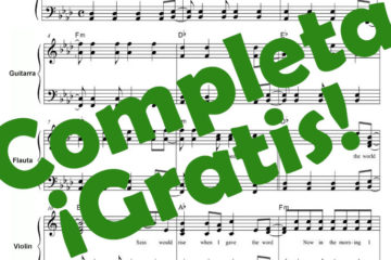 Partitura Nothing else Matters Pdf gratis online
