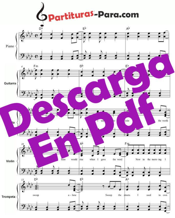 Lll Partitura Noche De Paz Guitarra Y Piano Joseph Mohr