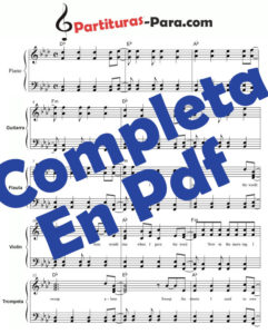 Partituras para Guitarra Pdf gratis online