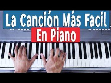 Descargar Mejores Partituras Fáciles para Piano | Bonitas para niños